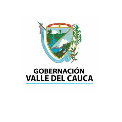 logo gobernacion del valle